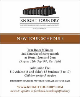 sutter creek knight foundry monthly tours